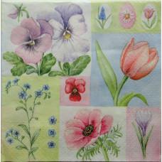 Салфетка Нежные весенние цветочки (235)