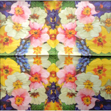 Салфетка Цветочный калейдоскоп (241)