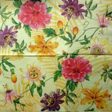 Салфетка Экзотические цветы (247)