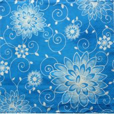 Салфетка Цветочная изморозь (254)