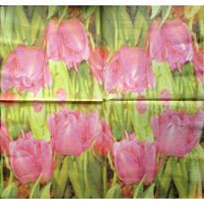 Салфетка Розовые тюльпаны (259)