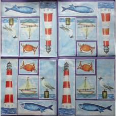 Салфетка Морские просторы (269)
