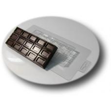 Форма для шоколада, мыла, массажных плиток Большая шоколадка