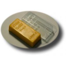 Форма для мыла Золотой слиток