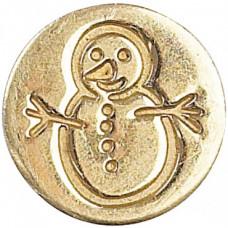 Сургучная печать, Снеговик (727SNW)