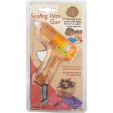Пистолет для воска (сургучных печатей), Оранжевый (760WGUSA)