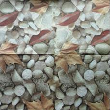 Салфетка Камешки и осенние листья (285)