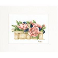 Полная корзина роз - Basket Full of Roses (PN8200)