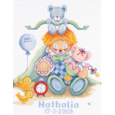 Метрика Клоун - Birth Clown (PN8156)
