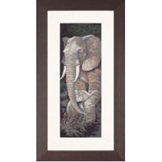 Слон и слоненок - Elephant and Baby (PN8232)