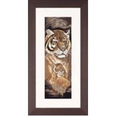 Тигр и тигренок - Tiger and Cub (PN8032)