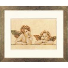 Два ангелочка - Two Rapheal Characters  (PN7969)