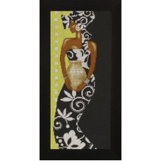 Африканка с вазой - African Lady with Vase (35136)