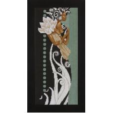 Африканка с цветами - African Lady with Flowers (35135)