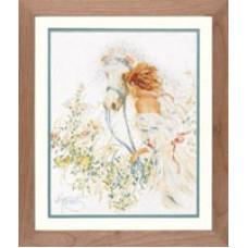 Лошадь и цветы - Horse and Flowers (PN7952)