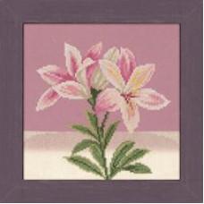 Бело-розовая лилия - Pink White Lily (PN8150)