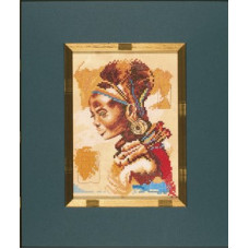Африканка (маленькая) - African Woman (small) (PN8084)