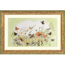 Цветы и бабочки - Flowers/Butterfly (PN7967)
