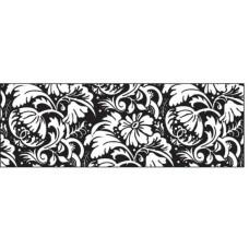 Калька черно-белая Цветочный орнамент, 115 г. (UR-53984604R)