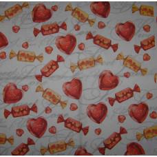 Салфетки Шоколадные канфеты (299)