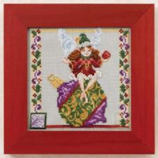 Набор для вышивания Mill Hill Фея орнамента (JS301103)