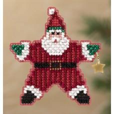 Набор для вышивания Mill Hill Санта-звезда (MH181301)