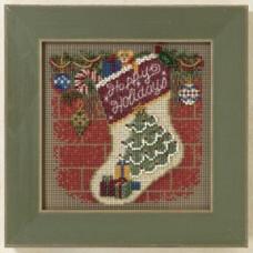 Набор для вышивания Mill Hill Праздничный сапожок (MH141305)