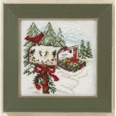 Набор для вышивания Mill Hill Праздничная доставка (MH141302)