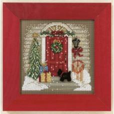 Набор для вышивания Mill Hill Дом на Рождество (MH141301)