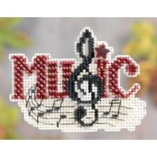 Набор для вышивания Mill Hill Музыка (MH181204)
