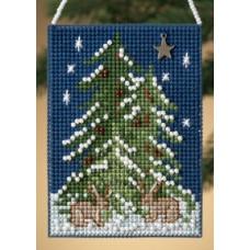 Набор для вышивания Mill Hill Лесная елка (MH160306)