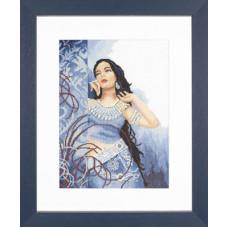 Красавица в голубом - Beauty in Blue (35068)