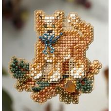 Набор для вышивания Mill Hill Полосатый кот (MH188203)