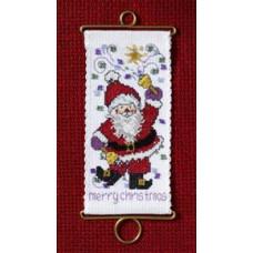 Набор для вышивания Mill Hill С Рождеством Христовым Санта (MH126305)