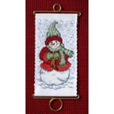 Набор для вышивания Mill Hill Горячие пожелания, Снегурочка  (MH126302)
