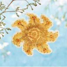 Набор для вышивания Mill Hill Золотое солнце (MH186101)