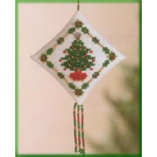 Набор для вышивания Mill Hill Праздничная елка (MHTD25)