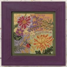Набор для вышивания Mill Hill Осенние цветы (MH140203)
