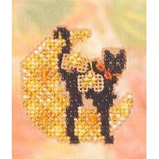 Набор для вышивания Mill Hill Лунный котик (MHAH72)