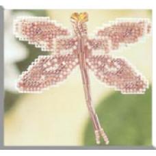 Набор для вышивания Mill Hill Розовая стрекоза (MHDF5)