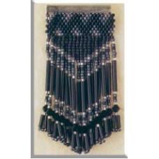 Брошь MillHill, Black Art Deco (MHJBP10)