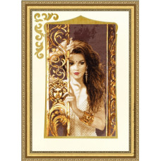 Набор для вышивания крестиком Золотое руно Жасмин (ГТ-040)