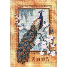 Набор для вышивания крестом Прекрасная птица (06870)
