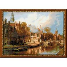 Амстердам. Старая церковь и церковь св. Николая Чудотворца (1189)*