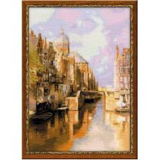 Амстердам. Канал Аудезейтс Форбургвал (1190)
