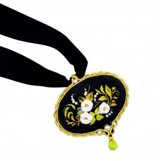 Набор для вышивания Риолис Кулон Белая роза» (1708АС)