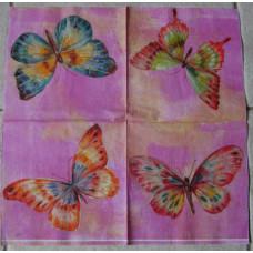 Салфетка Бабочки удачи (301)