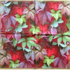 Салфетка Буйство красок виноградных листьев (317)