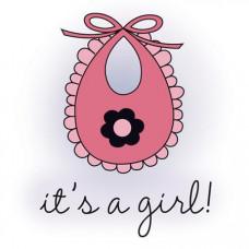 Штамп Little Cutie it's A Girl (2931)