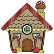 Штамп Santa s Little Helper Gingerbread House Snag Em (3362)